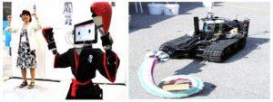 ربات Drone مربوط به ارتش آمریکا و ربات RIC90 ژاپن