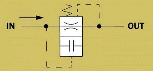 فیوز هیدرولیک کنترل سرعت بدون قابلیت تنظیم